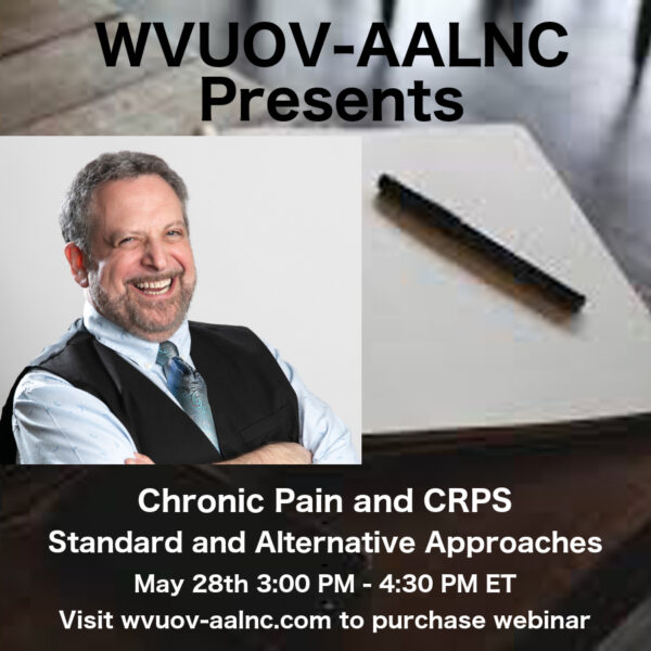 Dr Mitchell Cohn Chronic Pain and CRPS Standard and Alternative Approaches
