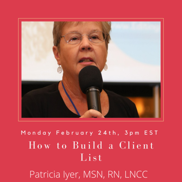 Pat Iyer - How to Build a List